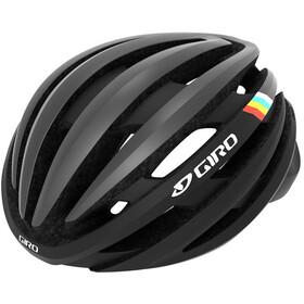 Giro Cinder MIPS Kypärä, matte gunmetal classic stripes